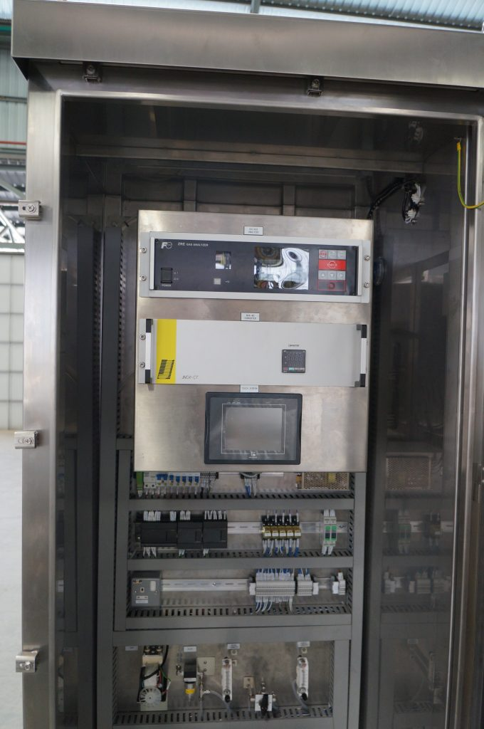 Gas Analyzer Panel House